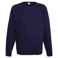 Темно-синий мужской свитшот (толстовка - реглан)