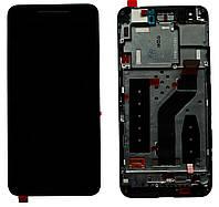 Дисплей Motorola XT1100 Nexus 6 / Google Nexus 6 complete with frame Black