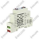 Реле времени многофункциональное Gawe TM01, 24VDC 24..230VAC, SPDT 5A/250VAC, фото 2