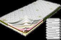 Матрас беспружинный ортопедический Dz-mattress подростковый от (12-ти лет) Хет-трик | зима / лето 80х200, фото 1