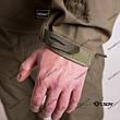 Тактическая Куртка Soft Shell ESDY TAC.-02 Olive непромокаемая 3XL, фото 5
