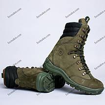 Берцы Зимние, Военные Омега Олива, фото 2