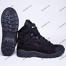 Ботинки Тактические, Зимние Гром Черный, фото 3