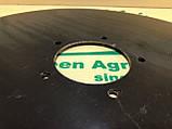 Диск сошника сз 3.6 Диск сошника без маточини СЗ-3.6 Запчастини до сівалці зернова сз-3.6 Запчастини на сівалки сз3 6, фото 3