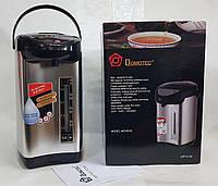 Термопот электрический (электрический чайник с термосом) Domotec MS-6000. 6.0 Литров