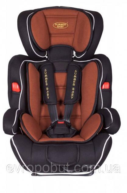 Автокресло детское Summer Baby Cosmo 9-36 кг коричневое
