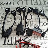 Комплект кабелей к легковым автомобиля (переходников)автосканеров Delphi , Autocom CDP + (Cables OBD2 OBDII) #