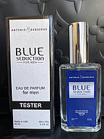 Мужской парфюм Blue Seduction Antonio Banderas For Men Tester 60ml