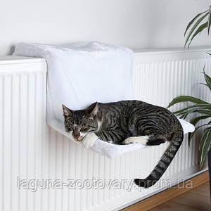Гамак на батарею для кота, 45х24х31см, белый.