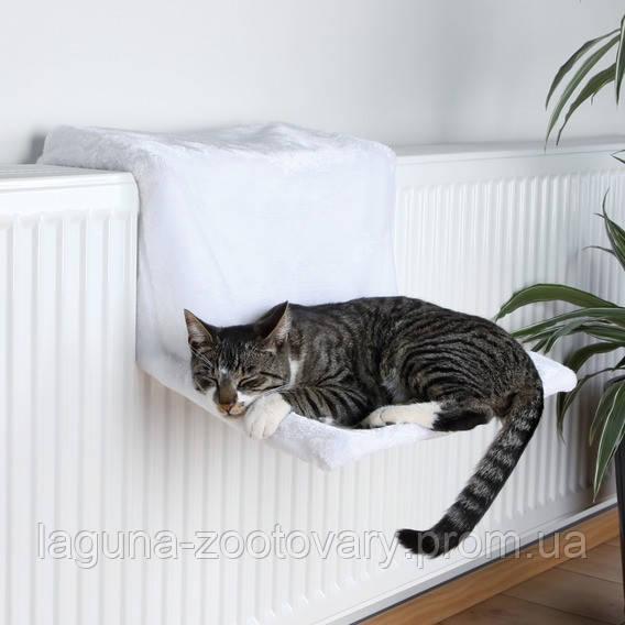 Гамак на батарею для кота, 45х24х31см, белый. - Лагуна Зоотовары в Харькове