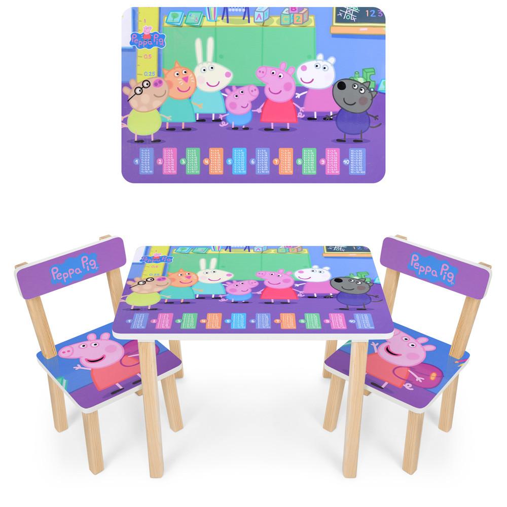 Детский столик 501-80 Свинка Пеппа