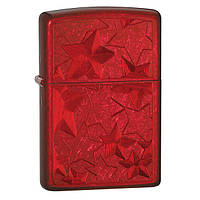 Zippo 28339 ICED STARS candy apple red