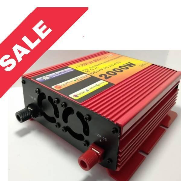 Перетворювач Power Inverter 2000W (DC 12V to AC220V)