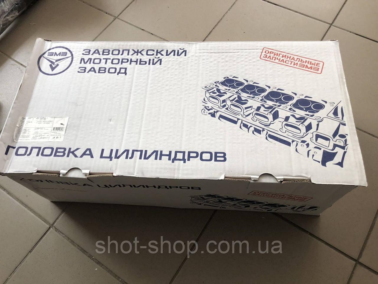 Головка блока цилиндров ГБЦ (дв.409) УАЗ .ГАЗель