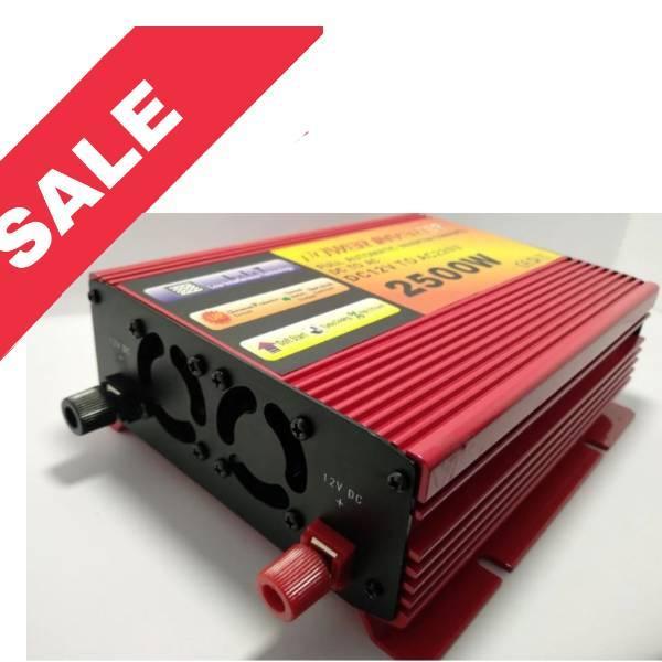 Перетворювач Power Inverter 2500W (DC 12V to AC220V)