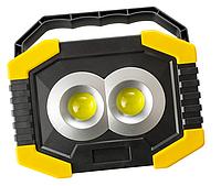 Переносной автономный светильник, фонарь на природу  5Вт, 3хАА с боковым фонариком IP44 LMP80