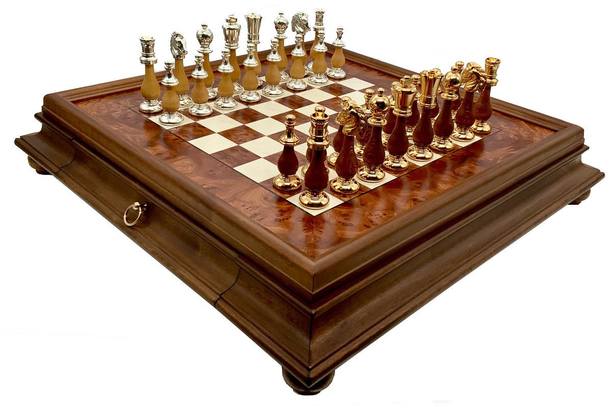 Шахматы, шашки, нарды Italfama 154GS+434R