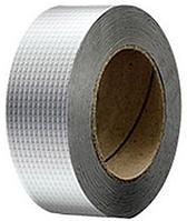 Клейкая лента - гидроизолирующая из алюминиевой фольги и бутилового герметика 3 м х 50 мм