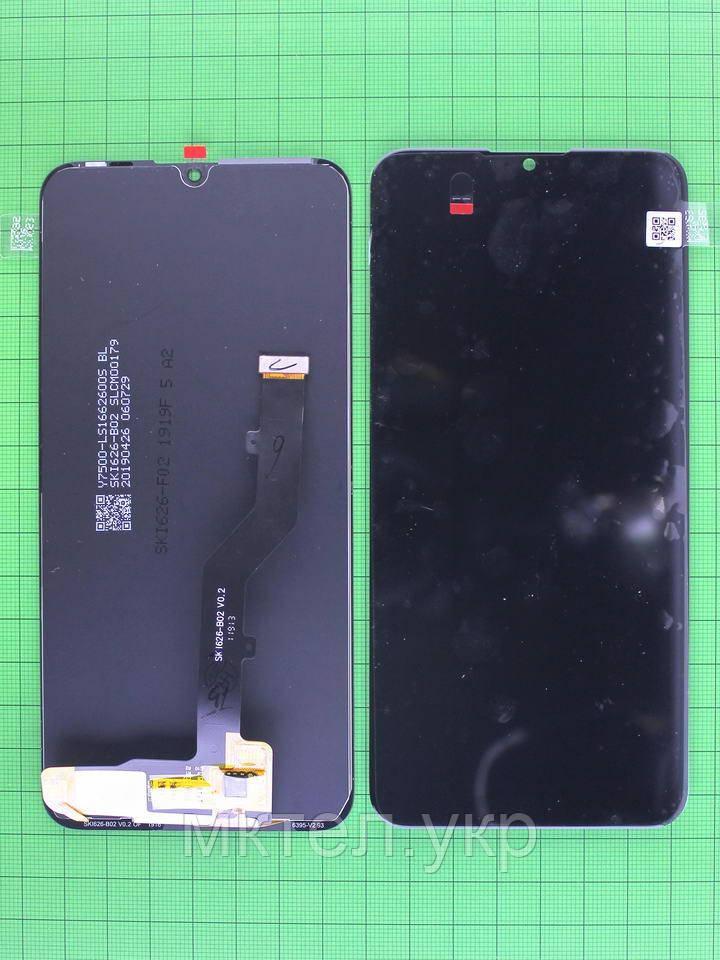 Дисплей ZTE Blade A5 2020 с сенсором, черный Оригинал OEM