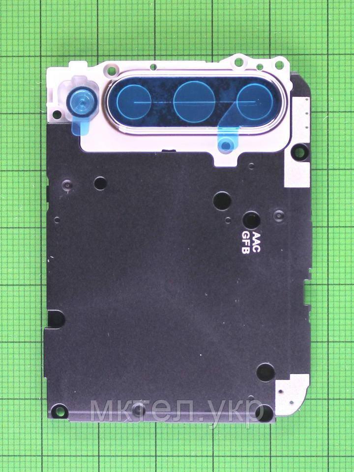 Декор камеры Xiaomi Mi A3, серебристый Оригинал #552825800000