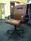 Шкіряне крісло Еко, фото 4