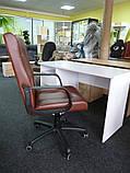 Шкіряне крісло Еко, фото 5