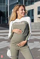 Костюм для беременных и кормящих WILLOW ST-30.031 оливковый