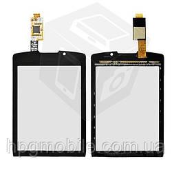 Touchscreen (сенсорный экран) для Blackberry 9800, оригинал (черный)