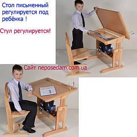 """Парта та стілець """"Розумчик"""" (є виставка цього товару)"""
