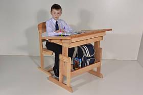 """Парта школьнику и стул """"Розумчик"""" (есть выставка этого товара)"""