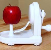 Кухонный аксессуар для очистки кожуры с фруктов - Механическая Яблокочистка «Серпантин» Аpple Peeler! Лучшая
