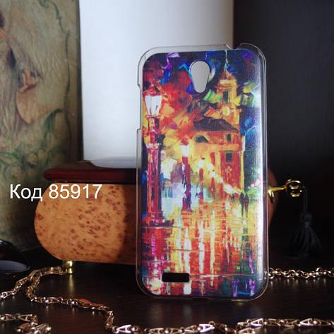 Чехол для lenovo a859 панель накладка с рисунком картина, фото 2