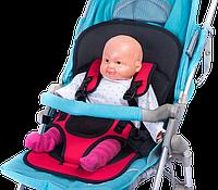 Бескаркасное детское автокресло | кресло для ребенка в машину | детское автомобильное кресло красное! Хит