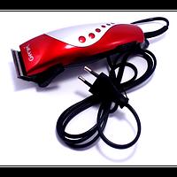 Машинка для стрижки волос GM-1015, машинки для стрижки с насадками, триммер машинка для стрижки! Хит продаж