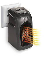 Портативный мини обогреватель 400Вт Handy Heater Черный + пульт! Лучшая цена