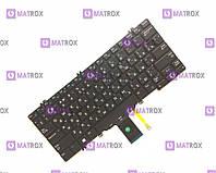 Оригинальная клавиатура для ноутбука Dell Latitude E7280, E5280, E7285, E5285 series, rus, black, подсветка