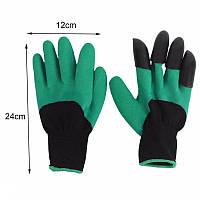 Многофункциональные садовые перчатки с когтями GARDEN GLOVE, Перчатки с когтями для сада и огорода! Хит продаж