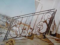 Кованые перила лестницы-23