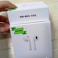 Беспроводные Bluetooth наушники NW M8X TWS , Hands Free, блютуз гарнитура, в хитах