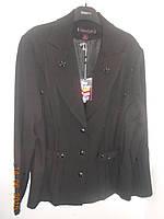 Черный костюм с бисером, фото 1