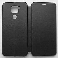 Чехол книжка для Xiaomi Redmi Note 9 Black (книга элит на Сяоми Редми Нот 9 Черный)