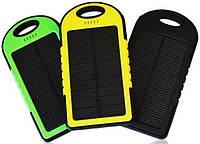 Портативное зарядное устройство Power Bank Solar 30000mAh с солнечной зарядкой Черный, хорошая цена