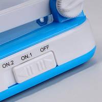 Настільна лампа світлодіодна LED-666 TopWell блакитна! Хіт продажів