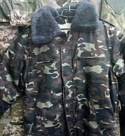 Бушлат осень - зима на меху дубок Украина, 56 р и др, с воротником
