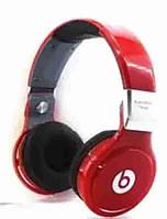 Беспроводные блютуз наушники Monster Beats Pro TM-006 красные, от аккумулятора 350 mAh, наушники Beats, фото 1