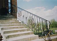 Кованые перила лестницы-25