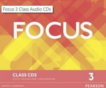 Focus 3 Second Edition Class CDs
