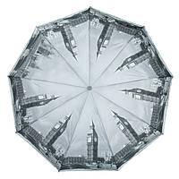 Зонт полуавтомат женский полиэстер 2262-3,Купить зонты оптом и в розницу., фото 1