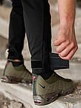 Мужские карго брюки beZet Aviator black'20, мужские осенние карго штаны, черные карго штаны, фото 6