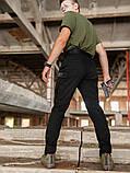 Мужские карго брюки beZet Aviator black'20, мужские осенние карго штаны, черные карго штаны, фото 5